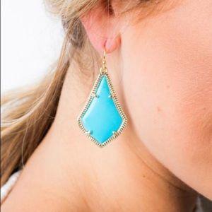 Kendra Scott Turquoise Alex Earrings